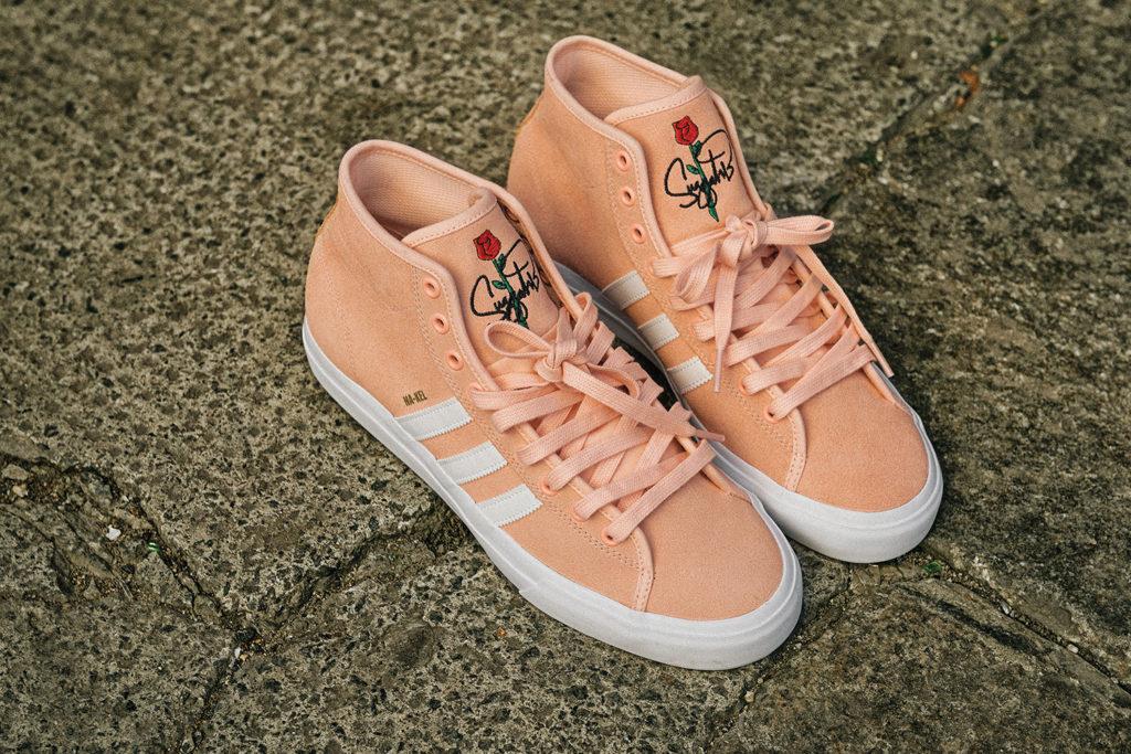 sports shoes ac996 611ab Adidas x Nakel Smith Matchcourt Mid Remix