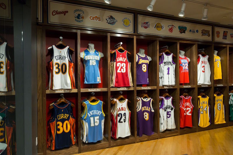 6a8d50480fb Allen Iverson Teamed Up With a Mitchell   Ness NBA Store jerseys